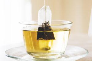 teafilter bögrében