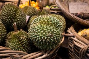 durián gyümölcs